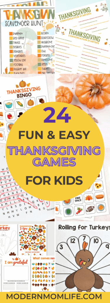 Thanksgiving Games for Kids