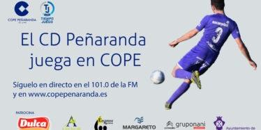 COPE Peñaranda narra en directo los partidos del CD Peñaranda en 3ª