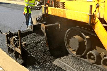 asphalt paving process - limitless golden construction