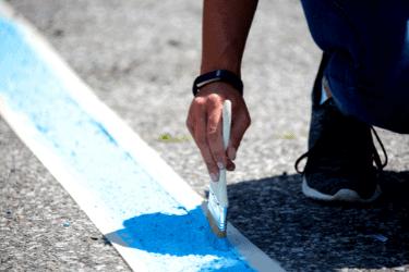 asphalt paint | limitless golden cosntruction