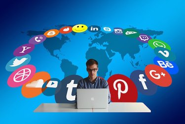 Using combination of project management and social platforms