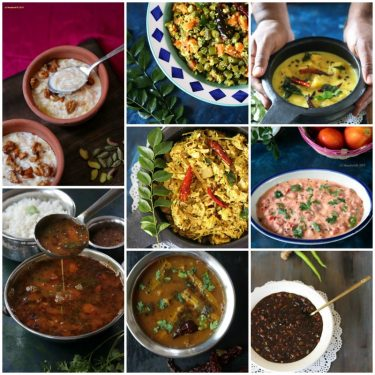 Vishu Sadya Recipes (Tamil New Year / Puthandu Recipes)