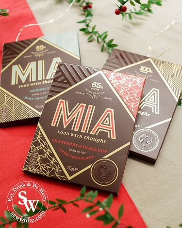 MIA chocolates made in Africa and perfect gifts for the Top 5 Food Gifts for Christmas 2019