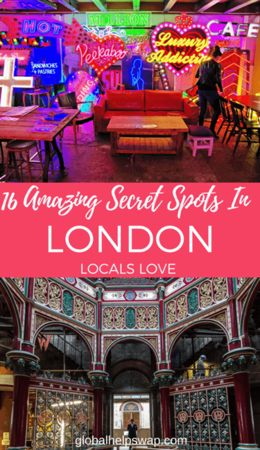 Secret Spots in London