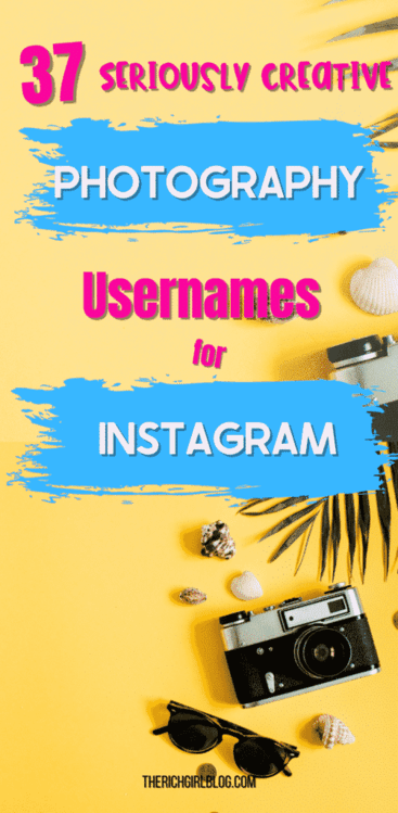 Instagram photography names