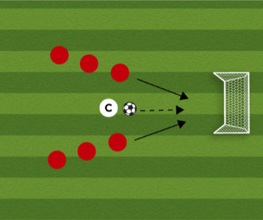 Win The Ball Soccer Shooting Drill