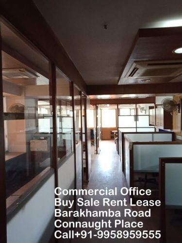 Office for Buy sale Rent Lease on Barakhamba Road Connaught Place call 9958959555