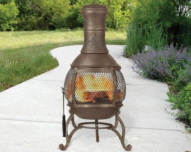 Chiminea Fire Pit: Reviews of the top 10 chiminea fire pits #Chiminea #Chimenea #ChimineaFirePit #FireplaceLab