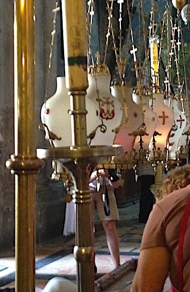 聖墳墓教会内部の画像