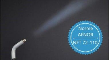 Conforme à la norme Afnor NF T 72110