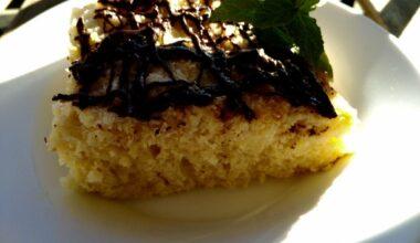 Foto receta pastel de coco con buttermilch