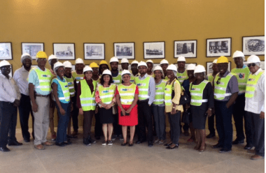 Guyana Govt. Ministries, Agencies visit TOPCO's Expansion Project