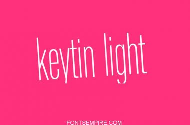 Keytin Light Font Family Free Download