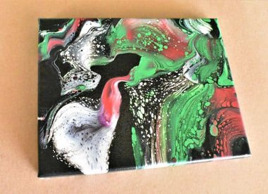 Day 18 Acrylic Pouring Color Theory Series
