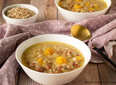 Zuppa di farro alla contadina Bimby