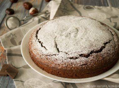 Torta al cioccolato e farina di castagne Bimby