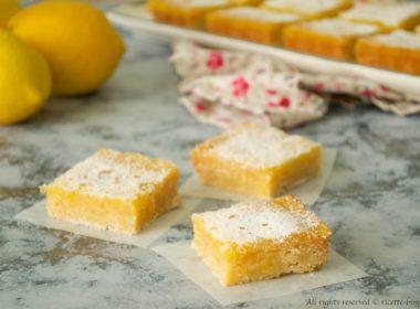 Lemon Bars Bimby