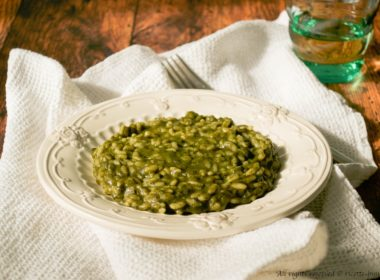 Risotto agli spinaci e gorgonzola Bimby