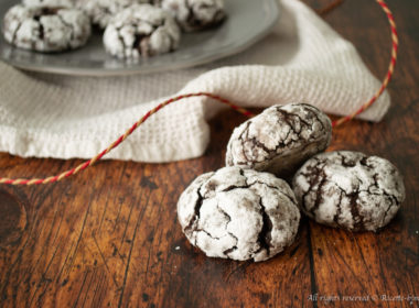 Chocolate crinkle cookie Bimby