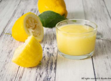 Crema all'acqua al limone Bimby