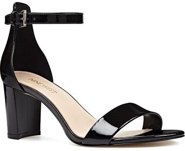 Nine West ankle strap sandal | 40plusstyle.com