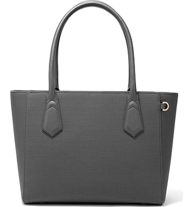 Dagne Dover Signature Classic Coated Canvas Tote | 40plusstyle.com