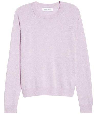 Samsøe Samsøe cashmere sweater | 40plusstyle.com