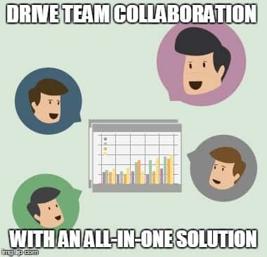 Drive team collaboration with an all-in-one solution