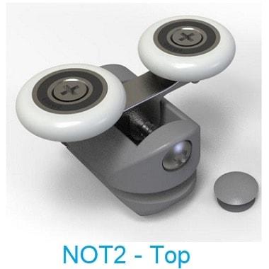 NOT2 - Top wheel - shower door parts