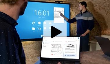 Cloud écran interactif