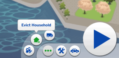How to evict a household in Sims 4 3