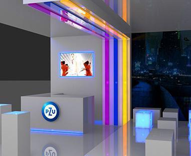 scenografia stoiska animacja 3D