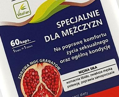 Projekty etykiet na suplementy diety