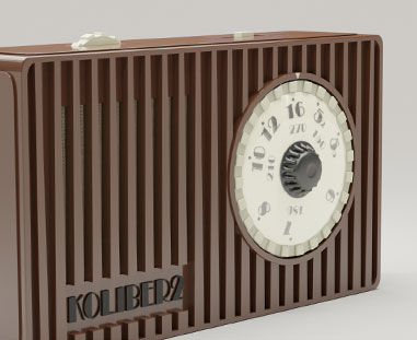 Radio koliber - animacja produktowa