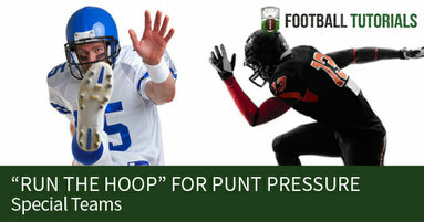 punt pressure RUN THE HOOP