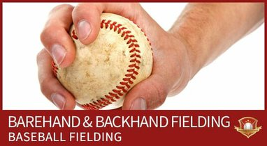 baseball fielding barehand backhand