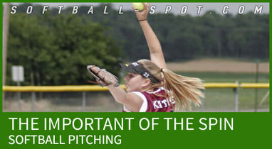 softball pitching spin