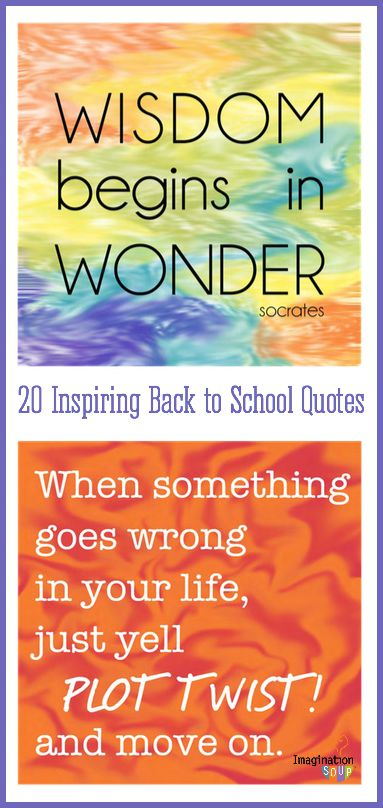 Back to School Quotes for Kids (free printable cards)