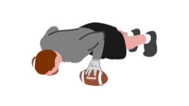 Ball Pushups Football Con