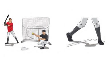 Pivot Hip Softball Hitting Drill