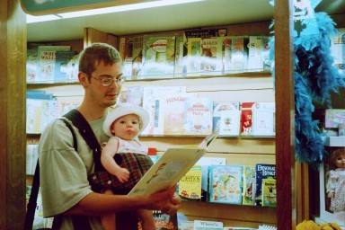 showing No. 1 Daughter a bookstore