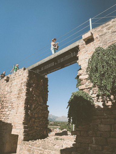 Restoration of the walls of Alcudia