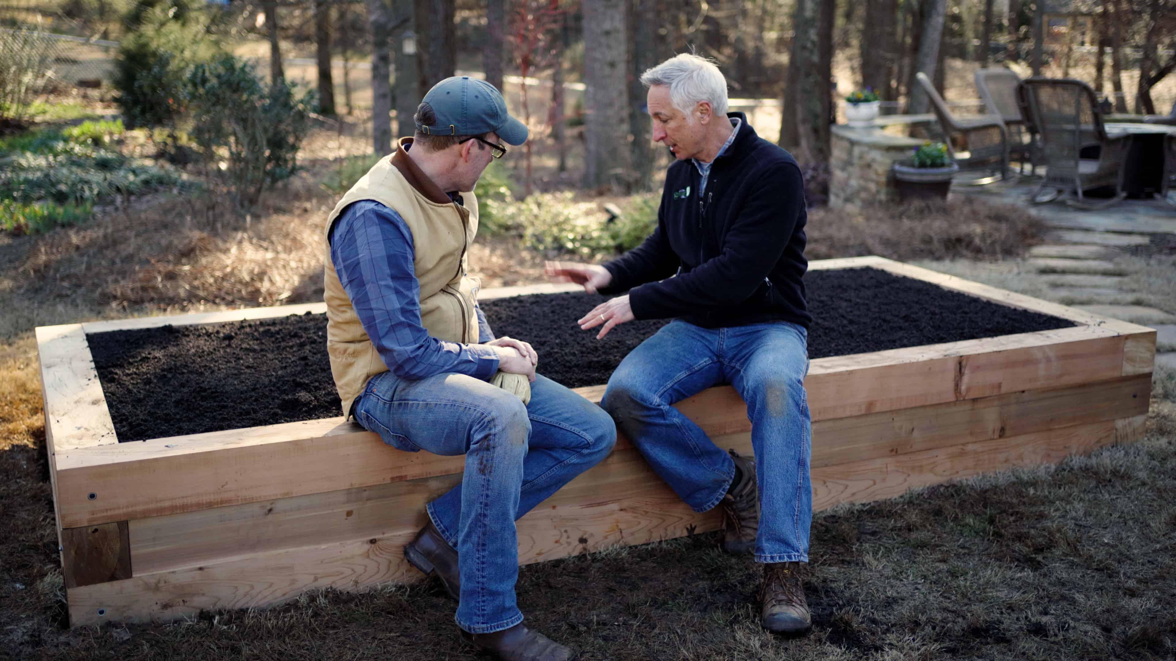 Raised Garden Bed Build with Joe Lamp'l