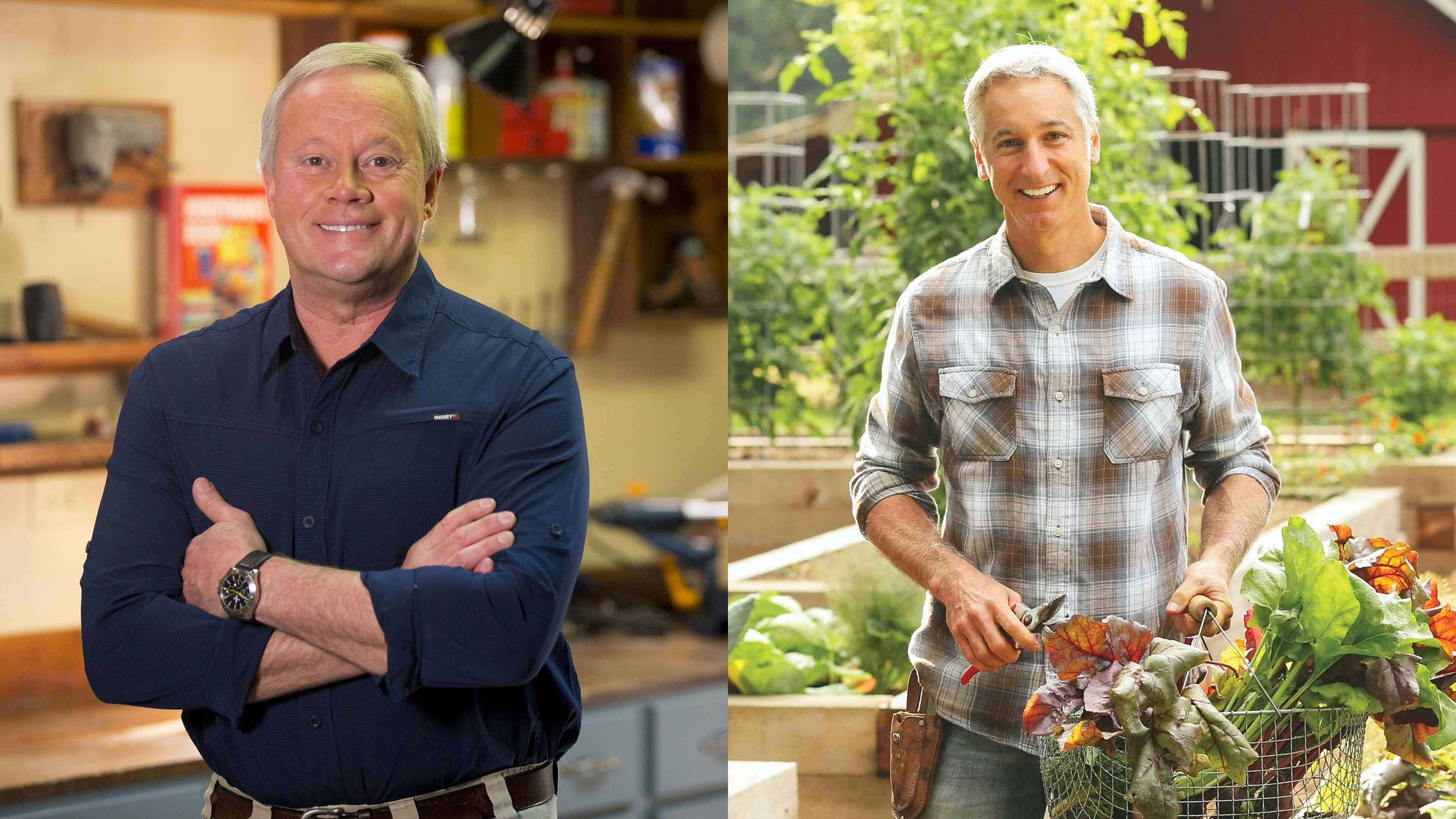 Danny Lipford, host of Today's Homeowner, and Joe Lamp'l, host of Growing a Greener World, offer fall gardening tips