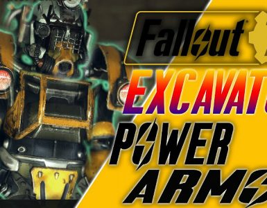 Fallout 76 Excavator Power Armor Mods
