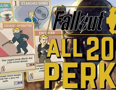 Fallout 76 Perk Cards List