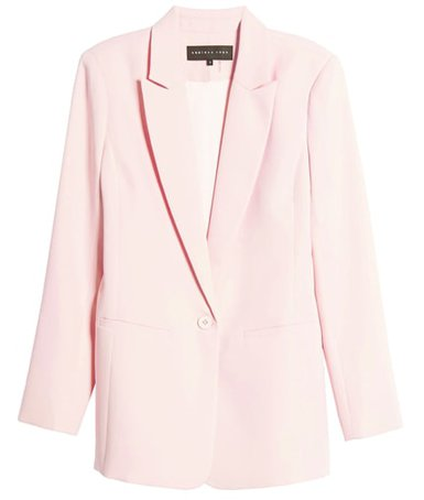 Endless Rose tailored blazer | 40plusstyle.com