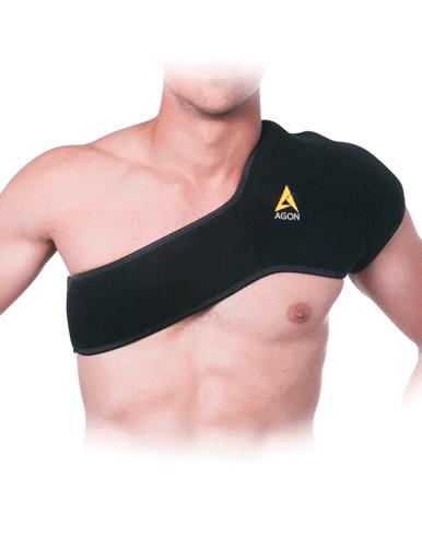 thermal shoulder brace support