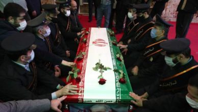 Funeral científico nuclear iraní
