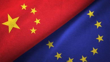 China UE Flags
